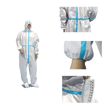 Protective coverall medical sterile